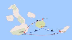 Galapagos Islands Location Map La Laguna Galapagos Hotel