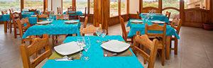 Hotel La Laguna Dinning Room Banner